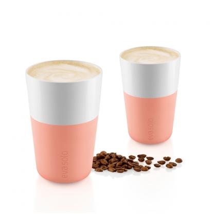 Café Latte Tassen Zalmroze