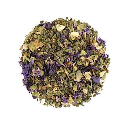 Yummitea Green Ginger Mint - Biologische groene gunpowder thee pepermunt en gember