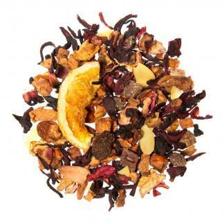 Yummitea Christmas tea - Apple Cinnamon - Kruidenthee met kaneel sinaasappel, aroma van rum en amandelen