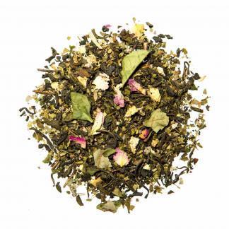 Yummitea Detox Mate -Biologische ontgiftende groene thee met brandnetel, tulsi & gember