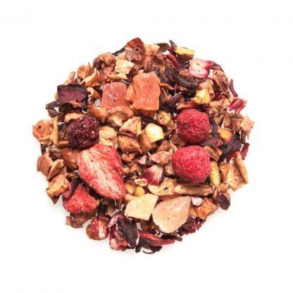 Yummitea Forest Berry Breeze -Cafeïne-vrije bosbessenmengeling van aardbei, framboos en hibiscus
