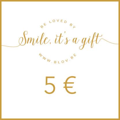 Altijd goed! Een cadeaubon van 10€, geldig op alle leuke producten van Bløv. Je ontvangt per email een digitale geschenkbon die onmiddellijk bruikbaar is. Je kan deze digitaal doorgeven of printen en als cadeau afgeven.Er worden geen verzendkosten aangerekend.