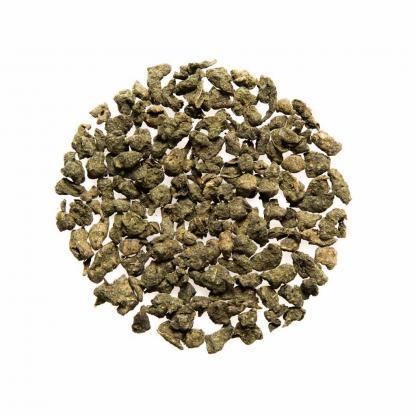 Yummitea Ginseng Oolong - Oolong thee met ginseng, frisgroen en een lichtzoete nasmaak met citrus.