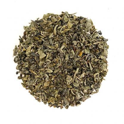 Yummitea Gunpowder - Biologische groene opgerolde thee