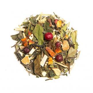 Yummitea ibiza Sunrise _ Biologische mixvan witte thee granaatappel & bessen voor je weerstand