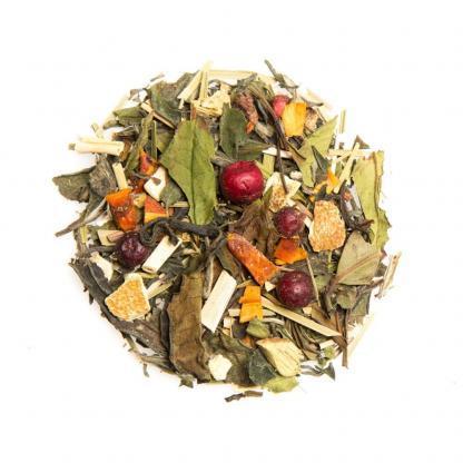 Yummitea ibiza Sunrise _ Biologische mix van witte thee granaatappel & bessen