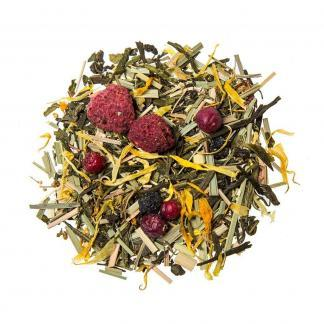 Yummitea Beautiful - Biologische schoonheid groene thee met amarant, galanga & bessen