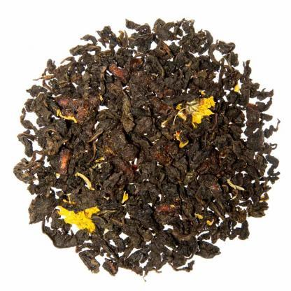 Yummitea Yuzu Pomegranate Oolong-Oolong thee met granaatappel en yuzu met frisse smaak