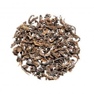 Meng Hai Pu-Erh post gefermenteerde thee, rijstaroma & robijnrode infusie