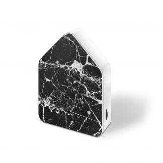 zwitscherbox marmer zwart zijkant