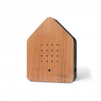 zwitscherbox kersenhout voorkant