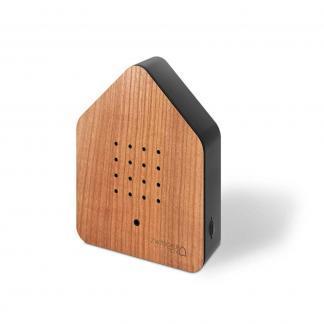 zwitscherbox kersenhout zijkant