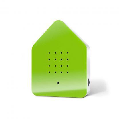 zwitscherbox groen voorkant