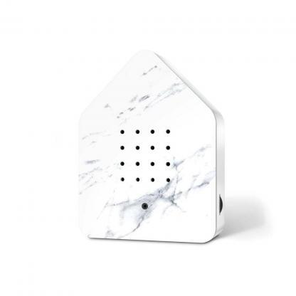zwitscherbox marmer wit voorkant