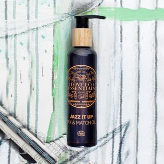 I Love Eco Essentiels olie 150ml ECOCERT label met jojoba en arganolie