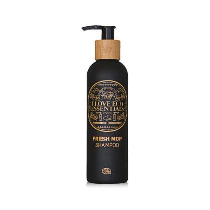 I Love Eco Essentiels shampoo 250ml met ECOCERT label met houtachtige geur