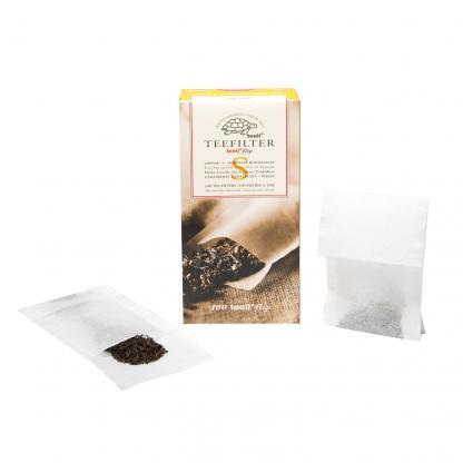 Teeli theefilter met flip maat S - biologisch afbreekbare theefilter