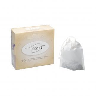 Tossit theefilter met trekkoord, chloorvrij filterpapier, biologisch afbreekbaar