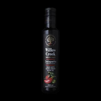 Willow Creek Jalapeño gearomatiseerde olijfolie bij Mexicaanse gerechten