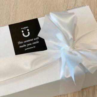 Thee geschenkdoos Groen/Zwart/Wit
