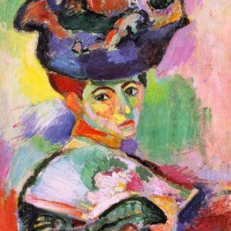 "Mohair Sjaal Matisse ""La Femme au Chapeau"""