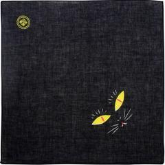 BLØV blov.be Kawaii Origami Kat Zwart S - 35x35cm handpop of inpak voor geschenkje