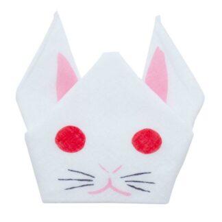 Kawaii Origami Konijn Wit S