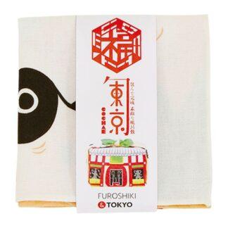 blov.be - Furoshiki Tokyo Zalmroze S - 48x48cm voor kleine geschenkjes