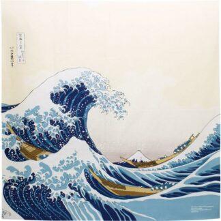 BLØV blov.be Furoshiki De Grote Golf bij Kanagawa XL - 104x104cm voor verpakking