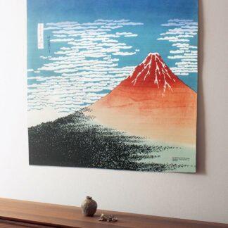 "Furoshiki ""De Rode Berg Fuji"" XL"