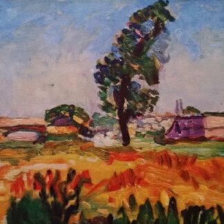 """Mohair Sjaal Matisse """"Paysage de Toulouse"""" blauwgrijs, Ecotex label"""