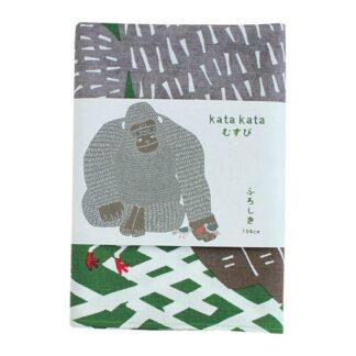 Furoshiki Gorilla Groen XL