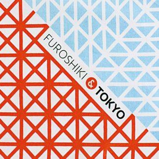 Furoshiki Tokyo Rood/Blauw M