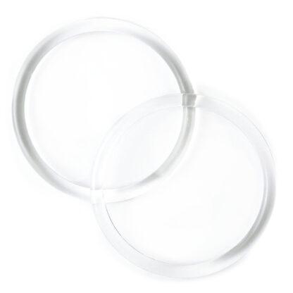 Furoshiki Handvat Ring Transparant met diameter 13cm