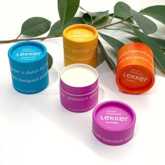 BLØV blov.be Lekker Deodorant 4 soorten