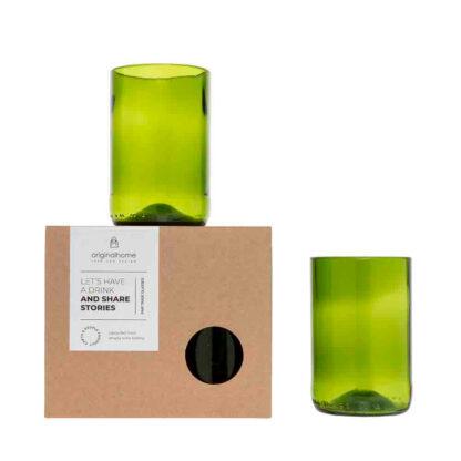 BLØV blov.be drinkglazen groen M_1