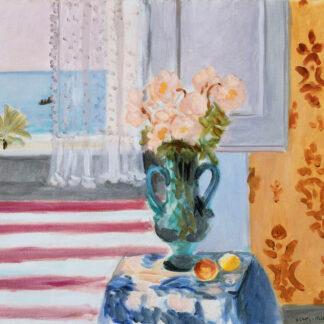 """Mohair Sjaal Matisse """"Vase bleu"""""""
