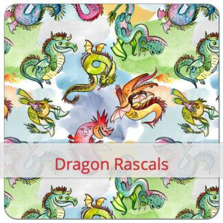 Print Dragon Rascals F&S BLØV