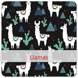 Sandwich Wrap met print voor kids Llamas BLØV