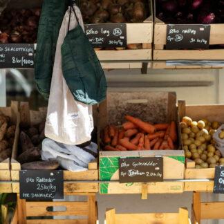 BLØV herbruikbare bewaarzak Food Bag voor voeding blov.be