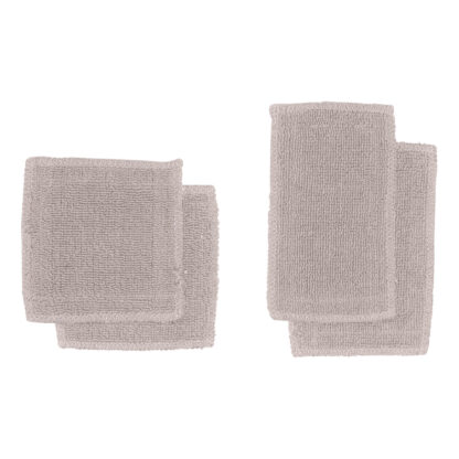 Herbruikbare wattenschijfjes of make-up pads lavendel - BLØV