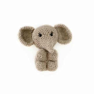 knuffel olifantje Taupe BLØV Izindlovu fonds