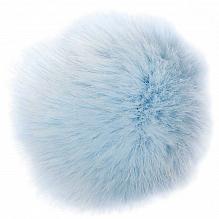 Kunststof Pompon Blauw